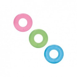 BESTWAY Salvagente trasparente cm.51 colori assortiti tinta unita