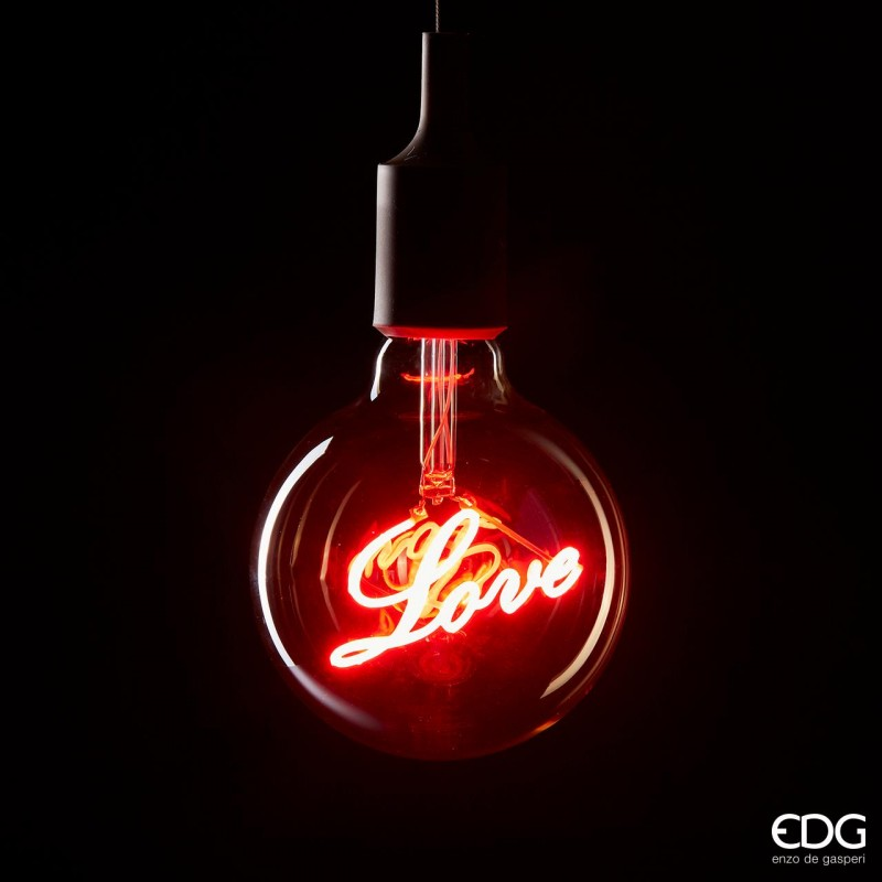 ENZO DE GASPERI Lampadina Love Led