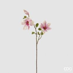ENZO DE GASPERI Ramo magnolia fucsia h86cm