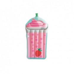 BESTWAY Materassino tropical beverage con maniglie e portabicchiere cm190x99