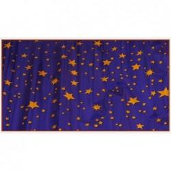 ROSSI ROSA Rotolo carta cielo metalizzata stelle oro 70x100