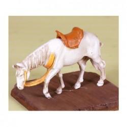 ROSSI ROSA Cavallo per allestimento presepe