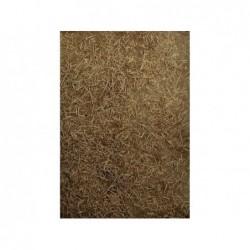 ROSSI ROSA Foglio carta 50x70 cm con paglia naturale