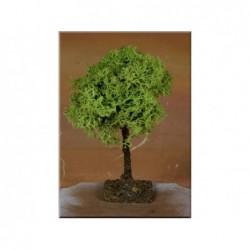 ROSSI ROSA Albero lichene h 13 cm per allestimento presepe