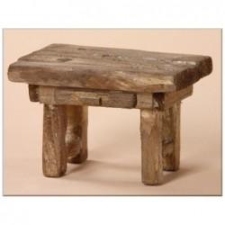 ROSSI ROSA Tavolo in legno 8,5x6x5,5 per presepe