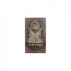 ROSSI ROSA Miniatura di fontana 3,5x2x7 cm per presepe