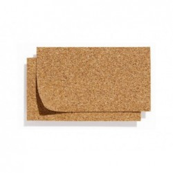 ROSSI ROSA Foglio sughero 100x50cm 5mm per presepe