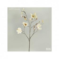 ENZO DE GASPERI Ramo magnolia h106cm ivory