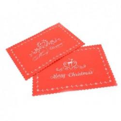 MERCURY Tovaglietta decorata in pannolenci cm 45x30 colore rosso