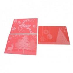 MERCURY Tovaglietta natalizia in pvc cm 30x45