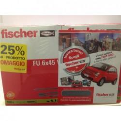 FISCHER Super promo fischer fu 6x45v confezione 150+50pz