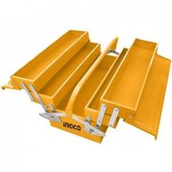 INGCO Cassetta porta attrezzi metallo 400x200x195 mm