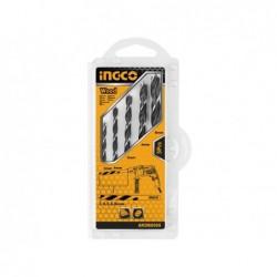 INGCO Set 5 punte trapano legno