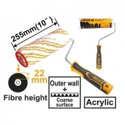 INGCO Rullo acrilico 25,5cm h.22mm con manico