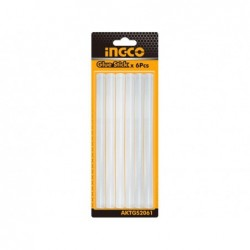 INGCO Stick di colla 11,2mm x 20cm - blister 6 pz