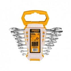 INGCO Set 8 chiavi a forchetta 6-22mm