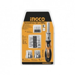 INGCO Set cacciavite 24 inserti