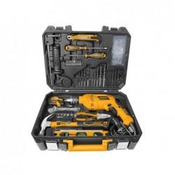 INGCO Valigetta con trapano e utensili 101pz