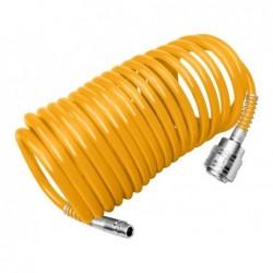 INGCO Tubo spiralato pu 5/8 con raccordi 10mt