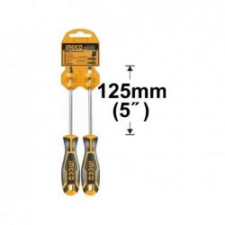 INGCO Set 2 cacciaviti croce/taglio