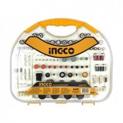 INGCO Set 250 accessori per minitrapano