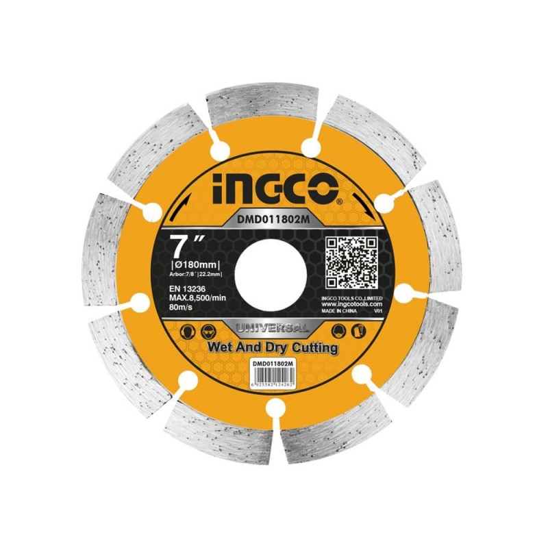 INGCO Disco diamantato 180mm