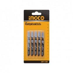 INGCO Set lame ricambio seghetto alternativo per metallo