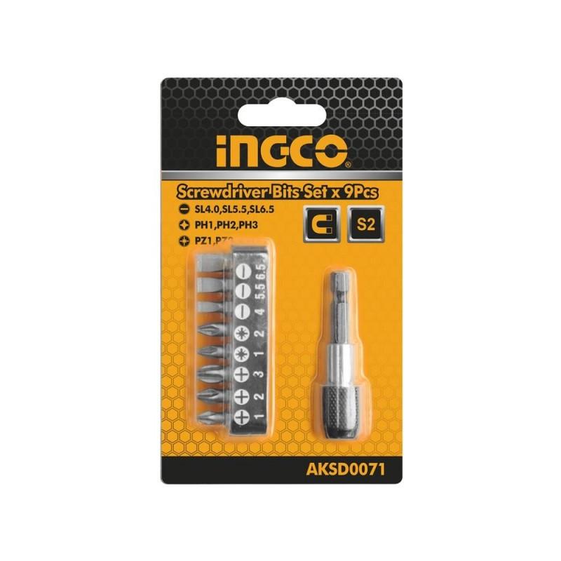 INGCO Set 9 pz bit
