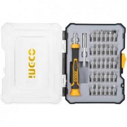 INGCO Set 32pz cacciaviti precisione