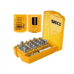 INGCO Set 30pz bit esagonali e cacciavite