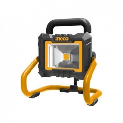 INGCO Faretto led 20w con batteria litio 20v