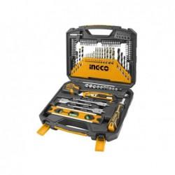 INGCO Set 86 accessori in valigetta