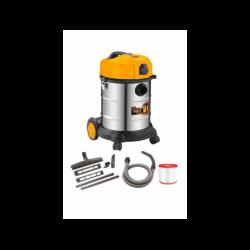 INGCO Aspirapolvere-liquidi inox 1200w