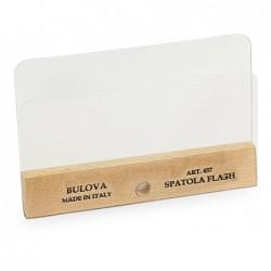 BULOVA Spatola flash plastificata doppia per decoro