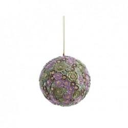 XONE Pendente sfera floreal dream 10 cm decorata a mano