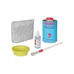 BANDINI SRL Kit fibroresina ml 750 con fibre