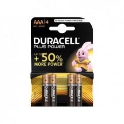 DURACELL Batteria plus power ministilo blister 4pz