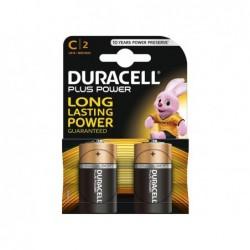 DURACELL Batteria plus power mezzatorcia blister 2pz