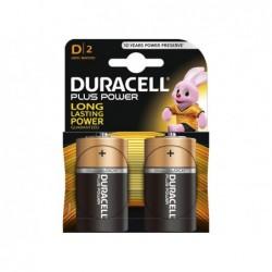 DURACELL Batteria plus power torcia blister 2pz