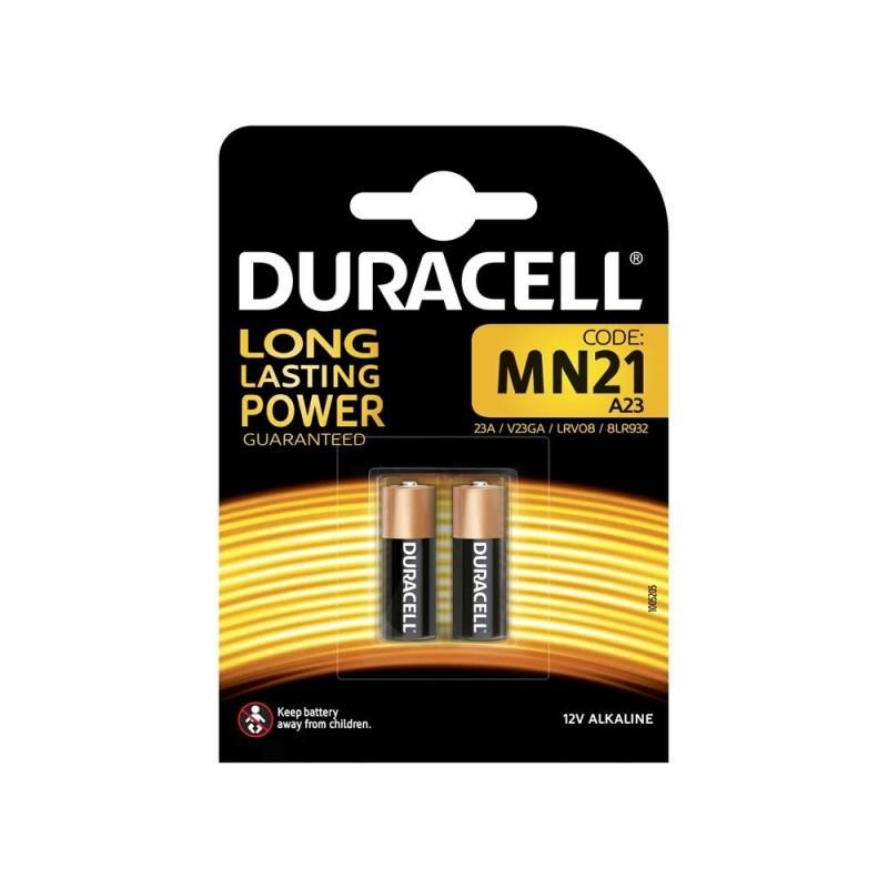 DURACELL Batteria mn21 12v- apricancello/macchina blister 2pz