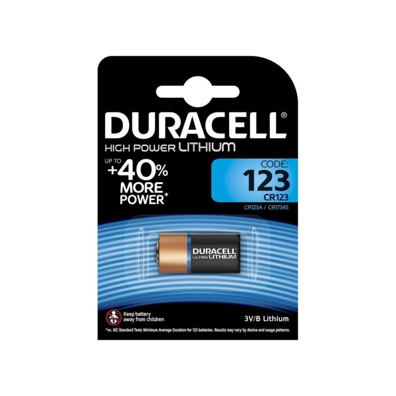 DURACELL Batteria litio 123 m3 ultra blister 1pz