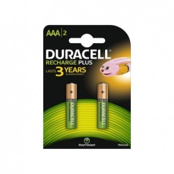 DURACELL Batteria ricaricabile value hr03 aaa blister 2pz