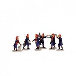 LEMAX Set Pompieri-Fireman Set