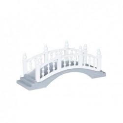 LEMAX Ponte bianco con scalini-Plastic Foot Bridge