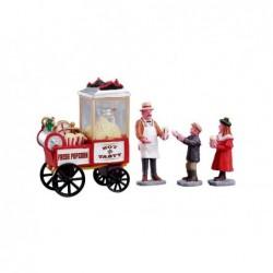 LEMAX Venditore di popcorn-Popcorn seller
