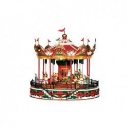 LEMAX Giostra natalizia-Santa Carousel