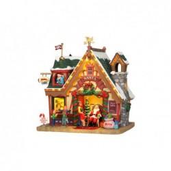 LEMAX Casa di babbo natale-Santa's Cabin