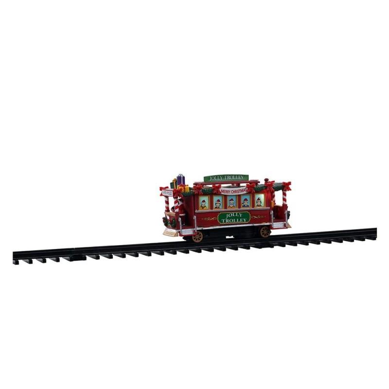 LEMAX Jolly trolley su binario-Tram Jolly Trolley