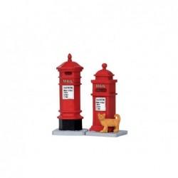 LEMAX Cassette Postali-Victorian mailboxes set of 2