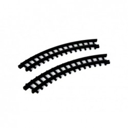 LEMAX Binari rotaie curve per treno-Curved track for chirstmas express